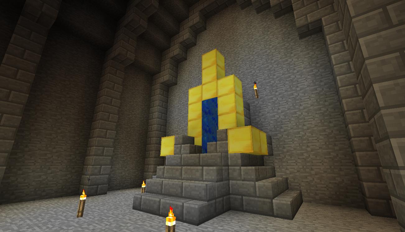 Как сделать трон херобрина 83