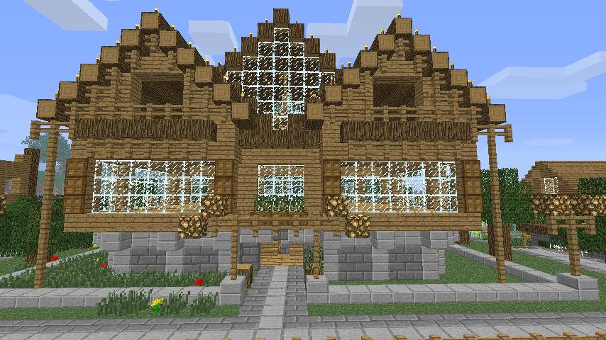 La plus belle maison de minecraft du monde interesting for Maison classique minecraft