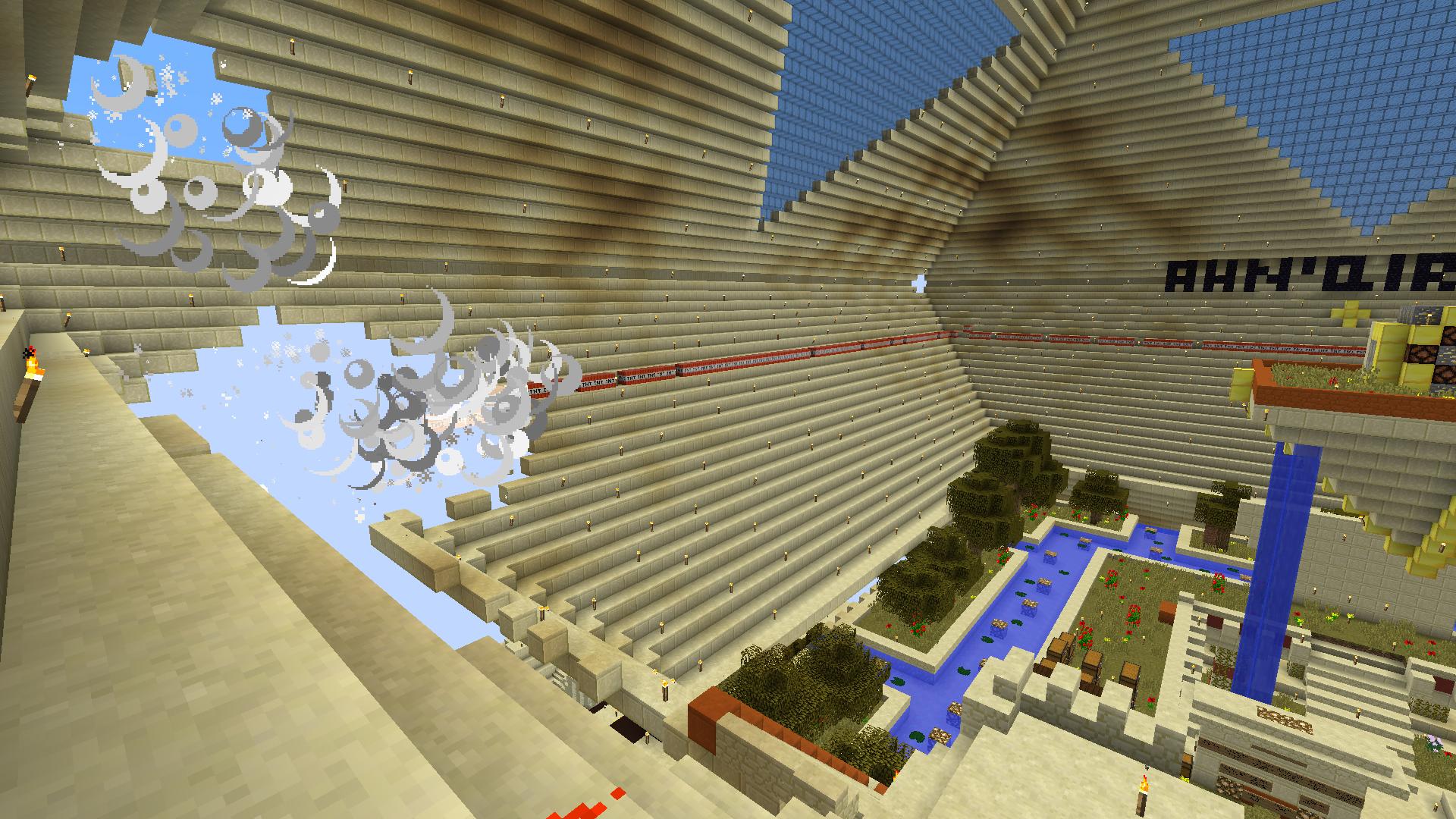 Pyramide en démolition