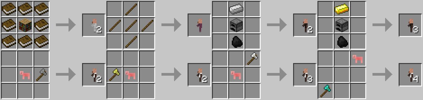 Minecraft mod minecraft craftable animals 1 1 - Comment faire une table dans minecraft ...