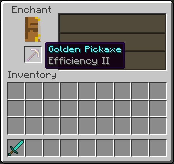 Minecraft derni res news choississez votre enchantement - Table d enchantement minecraft ...