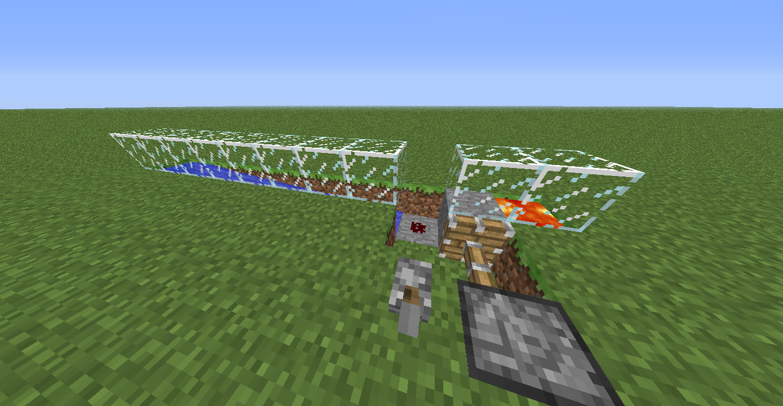 Minecraft l 39 obsidienne la redstone - Video minecraft construction ...