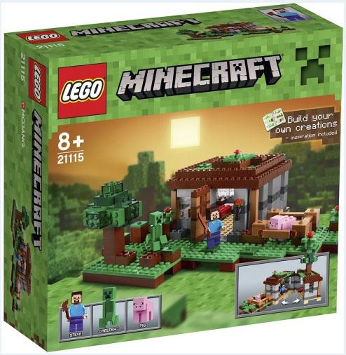 Minecraft derni res news lego minecraft toutes les - Boite rangement lego pas cher ...