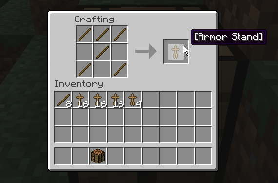 how to build armor in minecraft