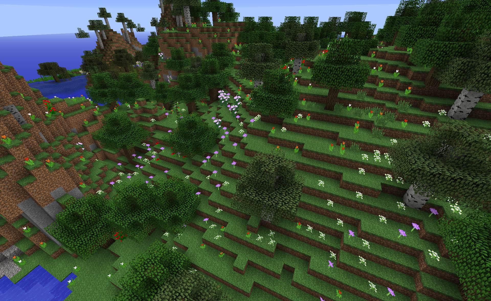 1 7 Horrid World Generation Recent Updates and Snapshots Minecraft Discus