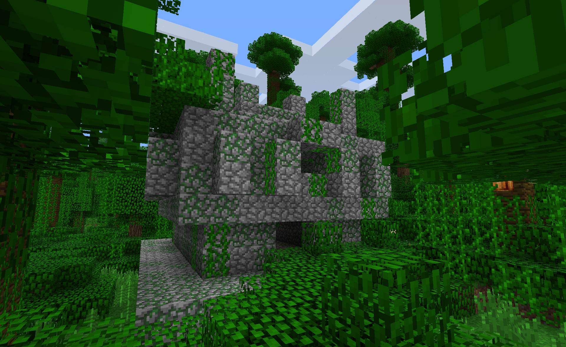 comment trouver temple minecraft