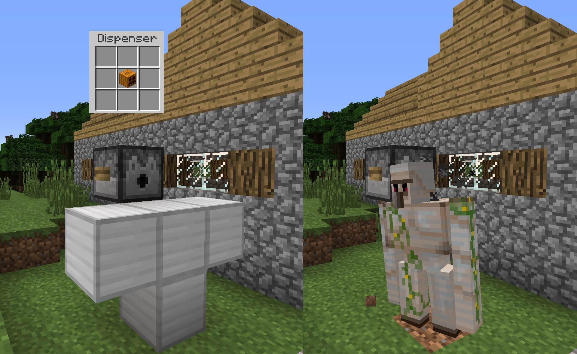 Minecraft derni res news snapshot 14w04a le test complet - Minecraft golem de fer ...