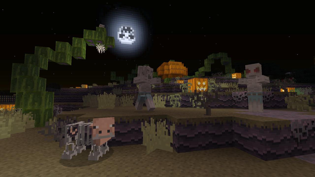 Minecraft : Dernières news: 2 packs de textures spécial Halloween ...