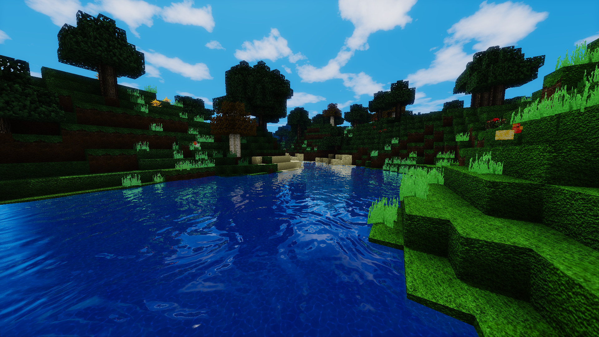 how to write a water shader