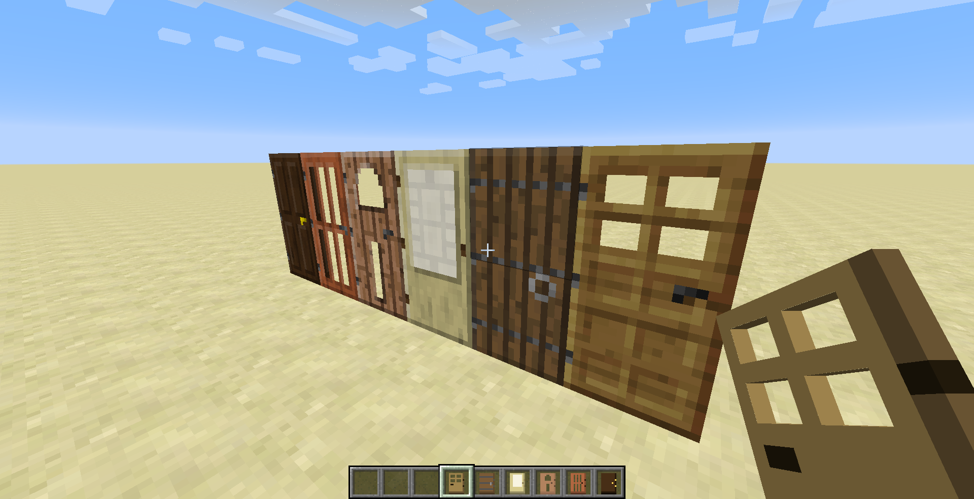 Minecraft derni res news sortie de la snapshot 14w33a for Porte and minecraft