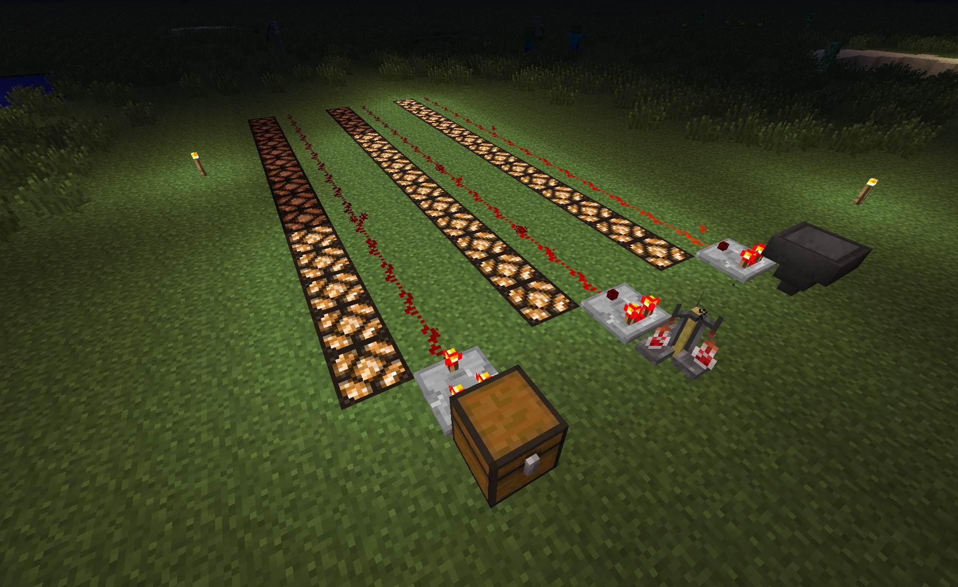minecraft dernires news sortie de la snapshot 13w01b - Lampadaire Minecraft
