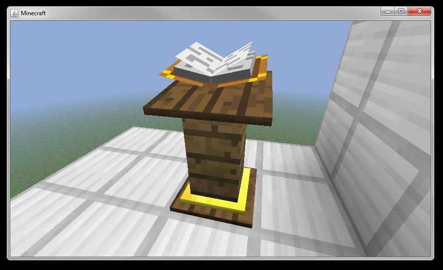 Minecraft derni res news comment partager vos manuscrits - Comment on fait une table d enchantement dans minecraft ...