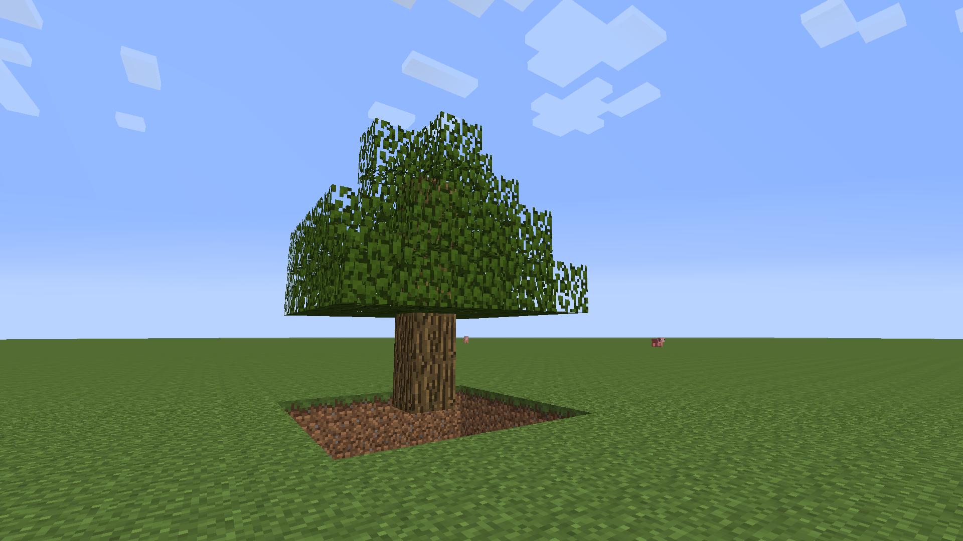 minecraft comment faire un arbre pi g. Black Bedroom Furniture Sets. Home Design Ideas