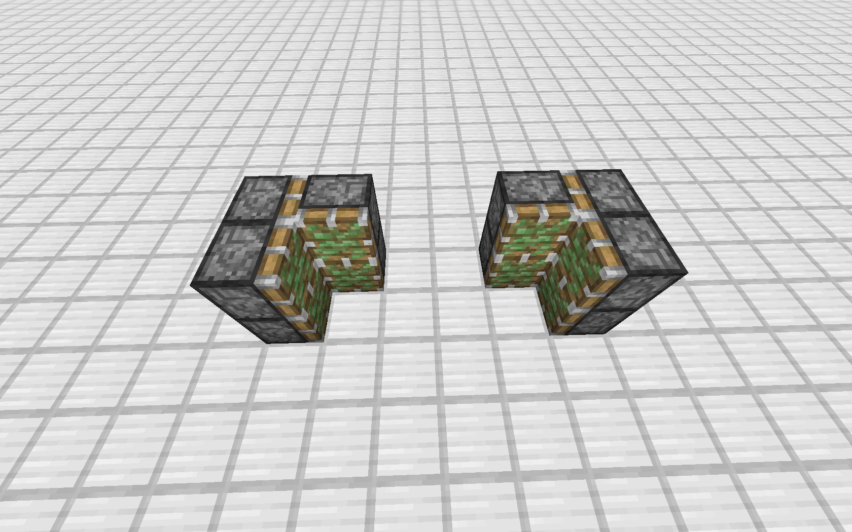 Minecraft comment faire une porte cach e avec des pistons - Comment on fait une table d enchantement dans minecraft ...