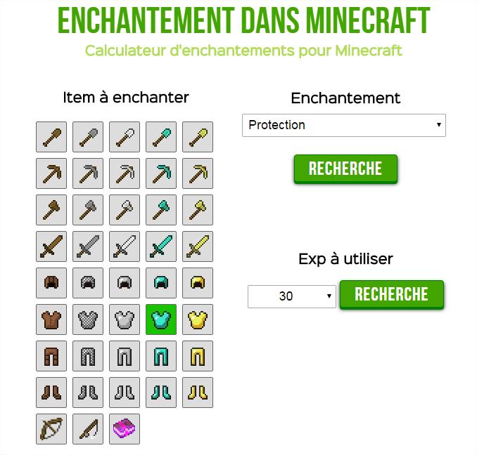 Minecraft derni res news optimiser ses chances d - Table d enchantement minecraft ...