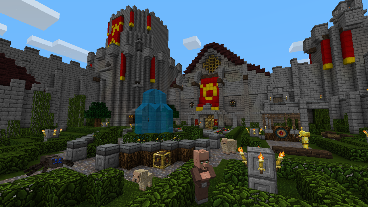 how to build a town hall in minecraft xbox 360
