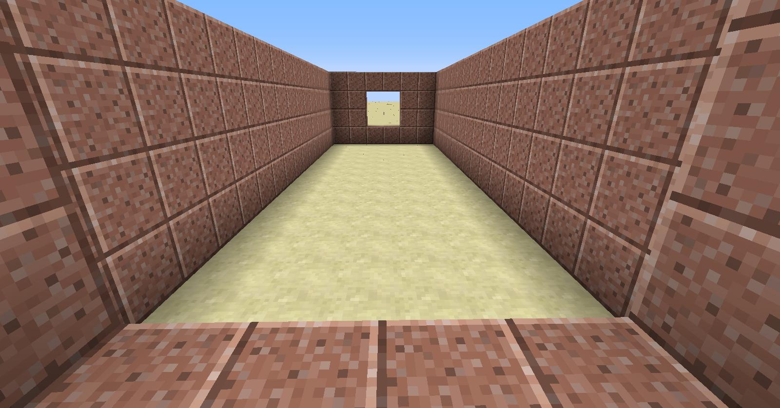 Minecraft comment faire un labyrinthe invisible - Comment on fait une table d enchantement dans minecraft ...