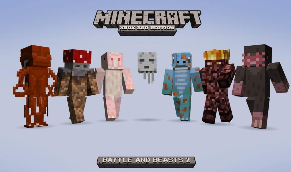 Minecraft : Dernières news: Minecraft Xbox360 Edition : Nouveau pack ...