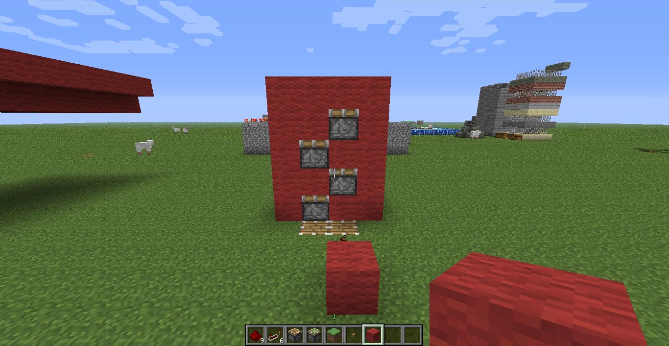 Minecraft comment cr er un ascenceur - Comment faire un evier dans minecraft ...