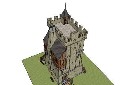 Projet construction d 39 un avant poste page 1 for Minecraft plan de construction maison