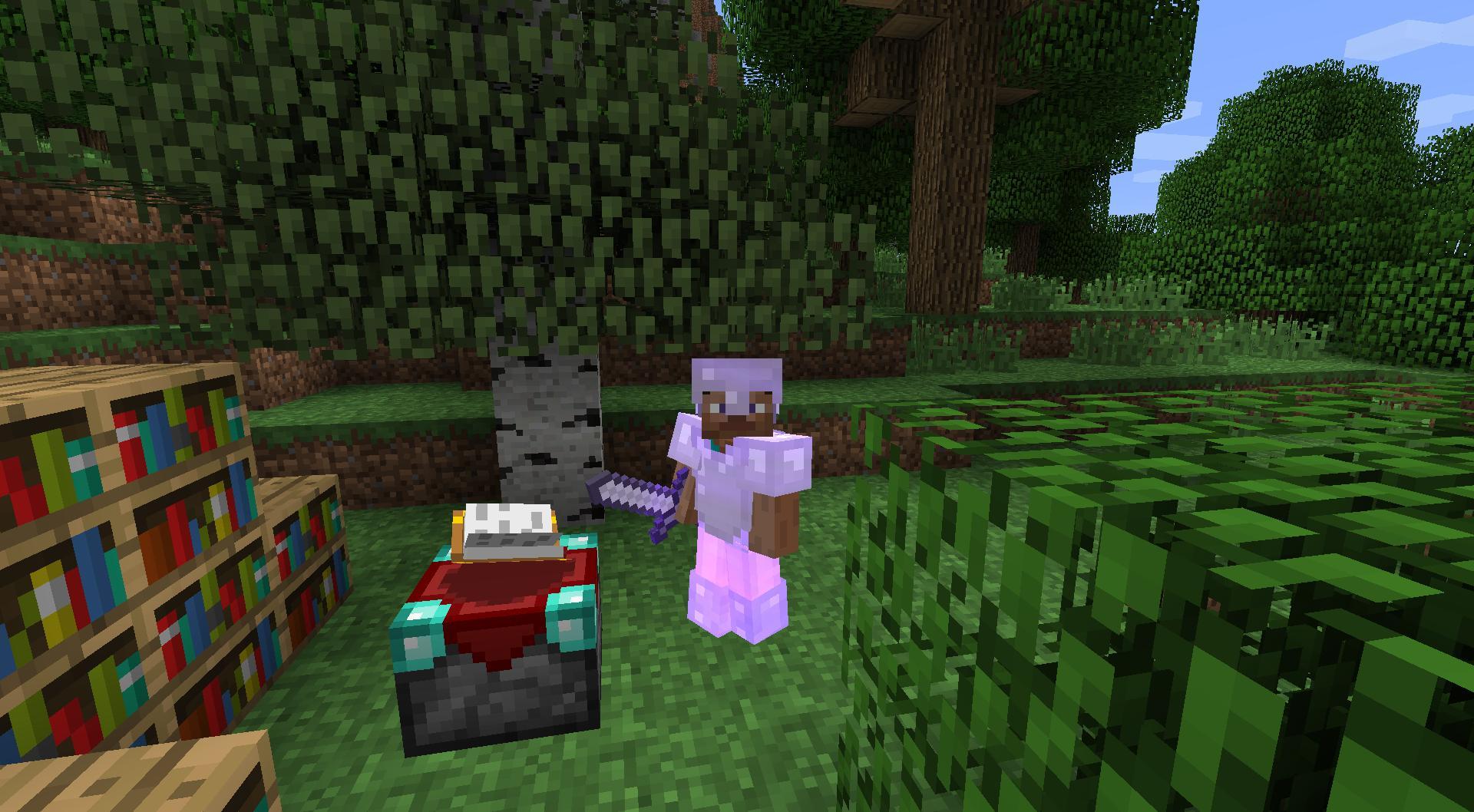 Minecraft derni res news un premier exemple d - Table d enchantement minecraft ...