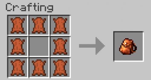 Mod Minecraft Sac à dos