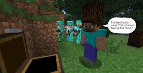Minecraft comment survivre dans un hunger game for Mine craft hunger games