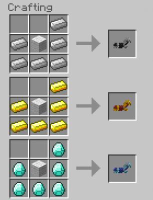 Comment avoir de l or dans minecraft - Cheval minecraft ...