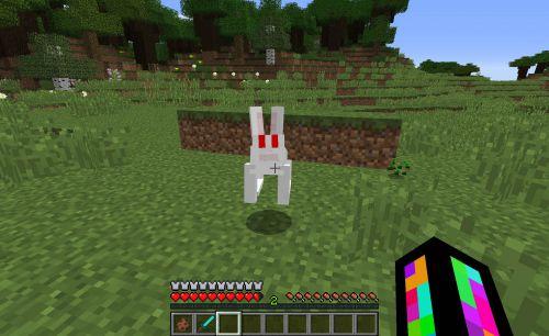 Comment trouver des lapins dans minecraft