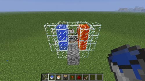 Minecraft generateur de cobblestone automatique - Comment on fait une table d enchantement dans minecraft ...