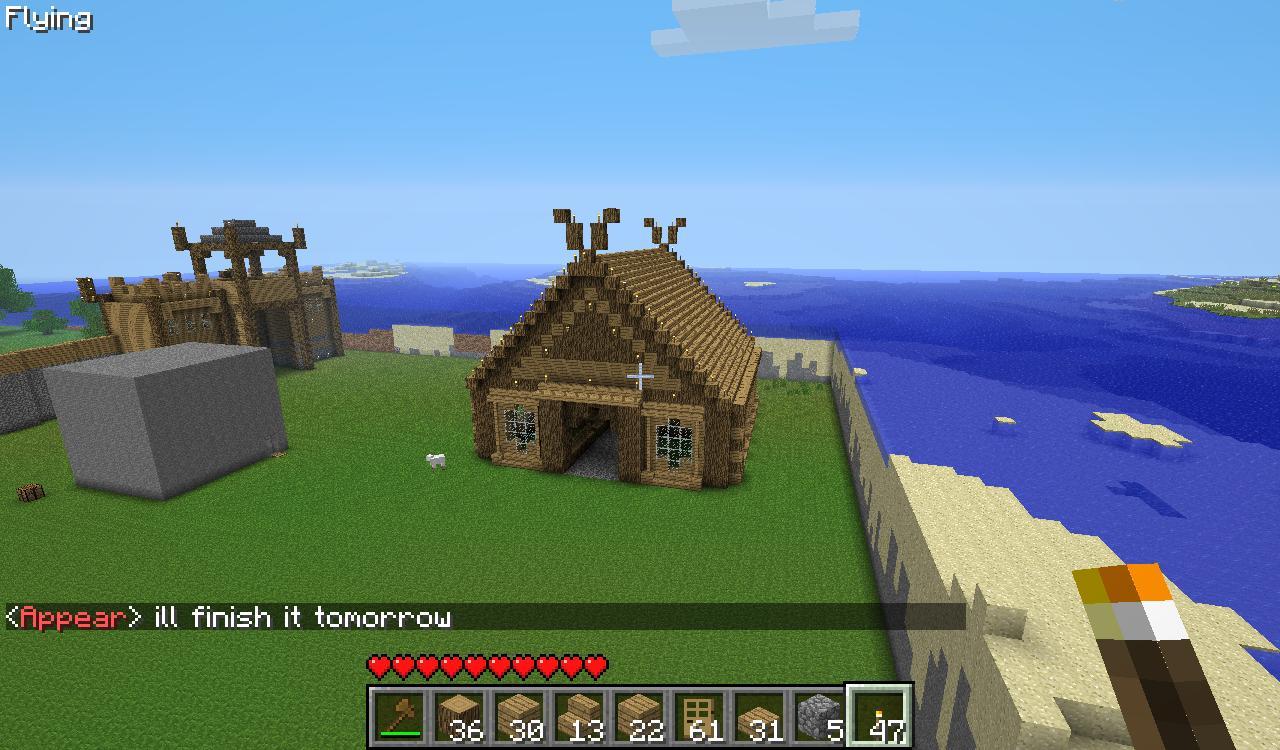 1 8 Des Rivières Et Des Villages Mediévaux Fr Minecraft