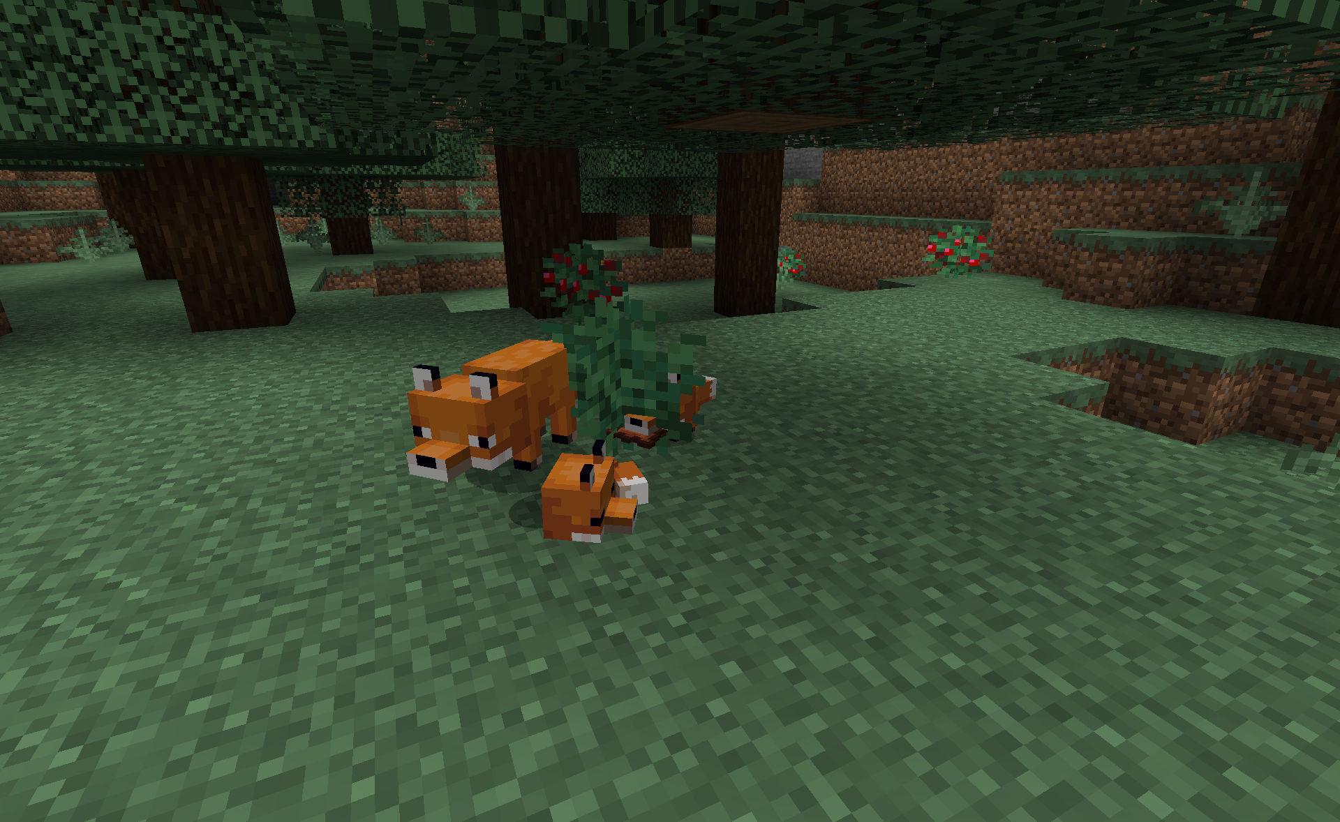 Minecraft Snapshot 19w07a: Les renards  FR-Minecraft