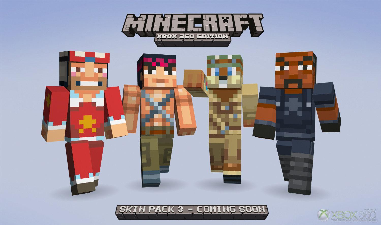 De Nouvelles Skins Pour Minecraft Xbox 360 Edition Fr