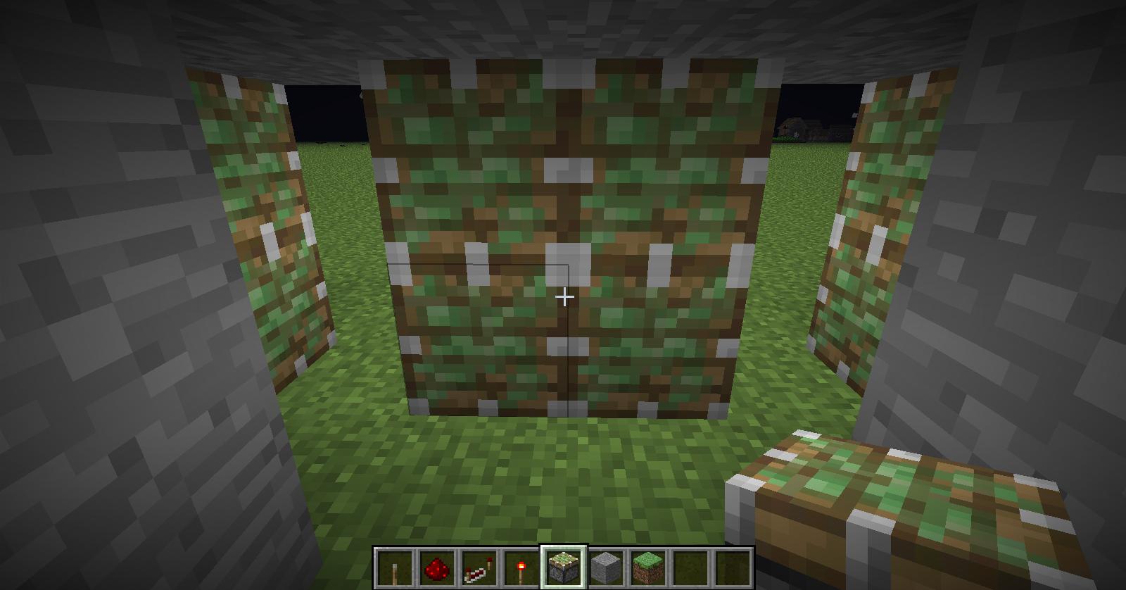 Comment Créer Un Passage Secret minecraft avoir une passage secret dans un mur