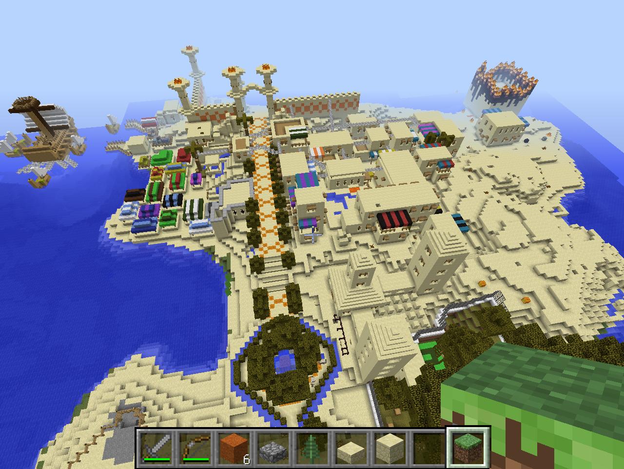 Minecraft comment cr er une maison arabique tr s facilement - Decorer sa maison minecraft ...