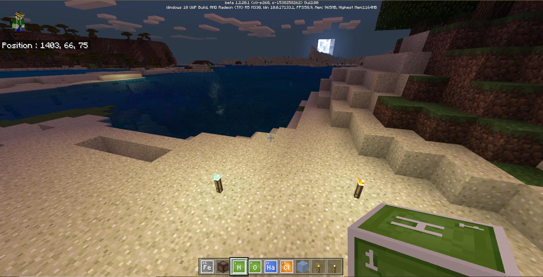 Minecraft Bedrock Beta 1 2 20 1: La chimie pour tous  FR