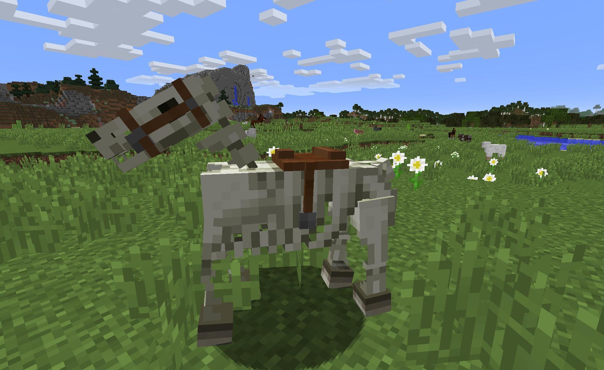 Minecraft snapshot 15w38a le test complet fr minecraft - Cheval minecraft ...