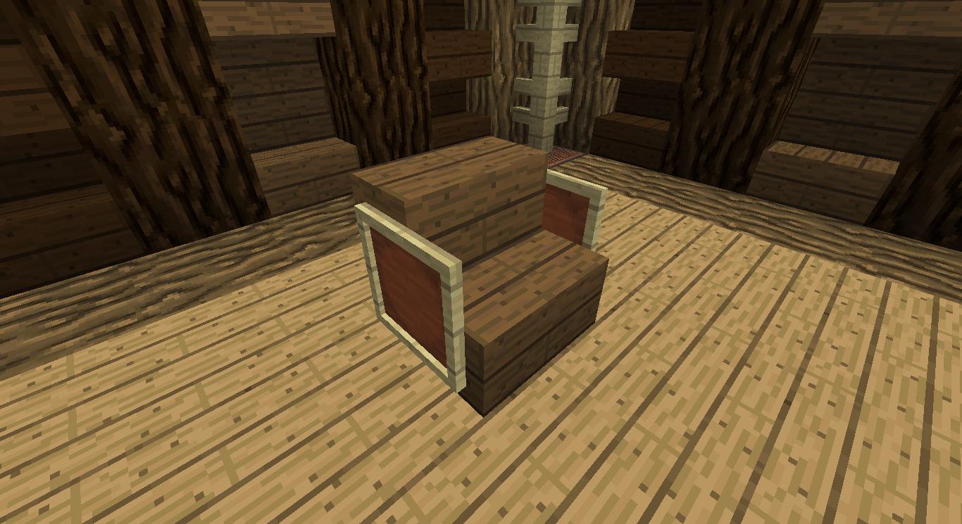 Minecraft Faire des chaises fonctionnelles