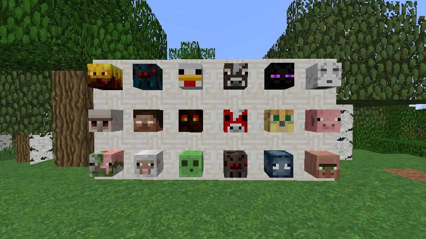 Minecraft Obtenir Les T 234 Tes De N Importe Quel Joueur En Solo