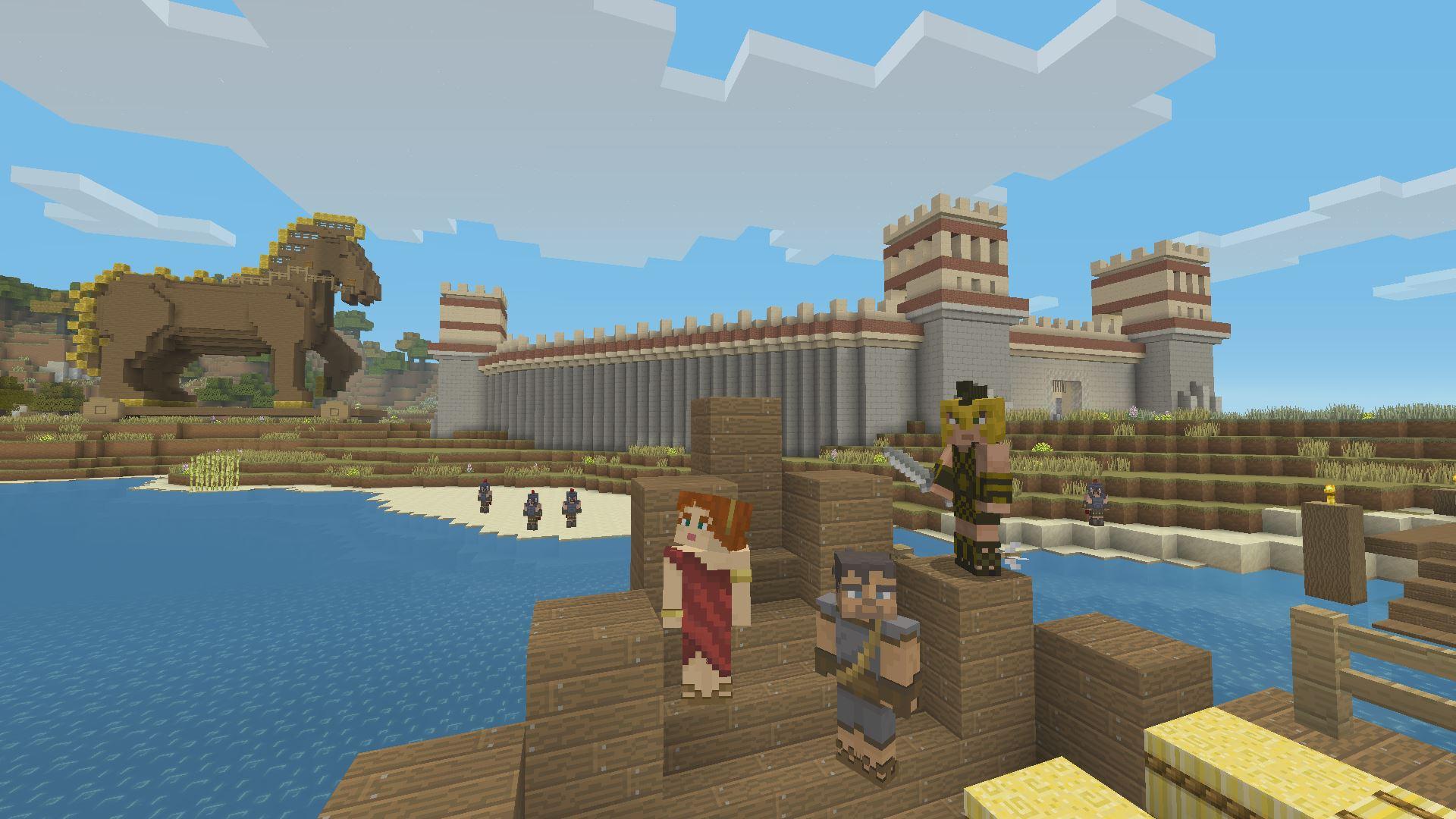 Un Mash Up Pack Sur La Mythologie Grecque Fr Minecraft