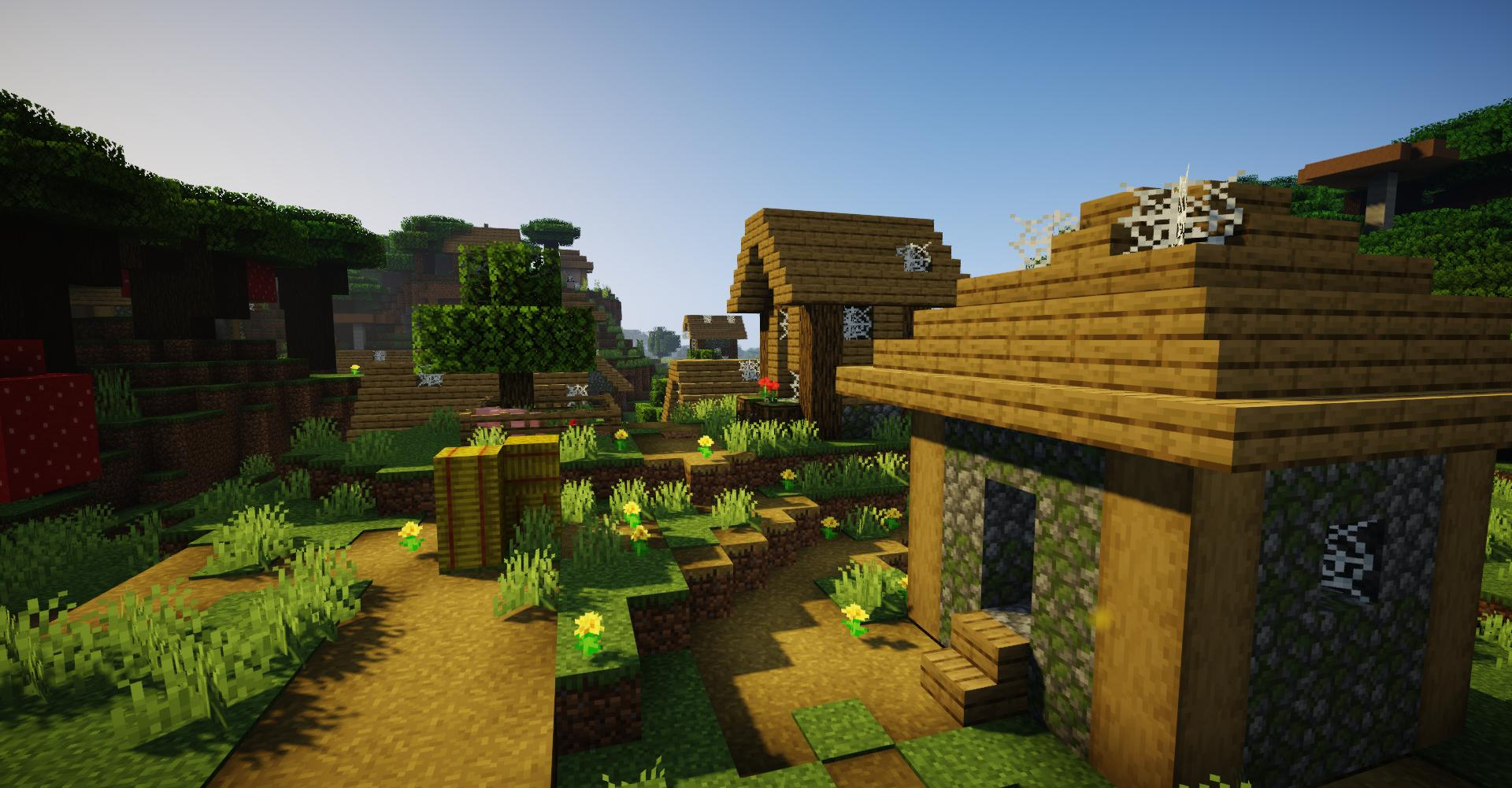 Minecraft Seed Minecraft : Village fantôme