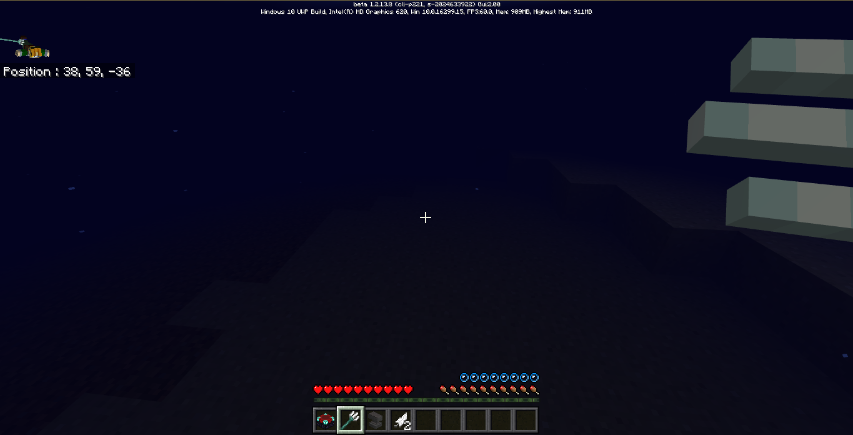 Minecraft Bedrock 1.2.13.8: Premier test de l'Aquatic ...