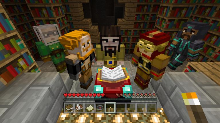 Màj Le Pack De Skin Minecraft Story Mode Disponible
