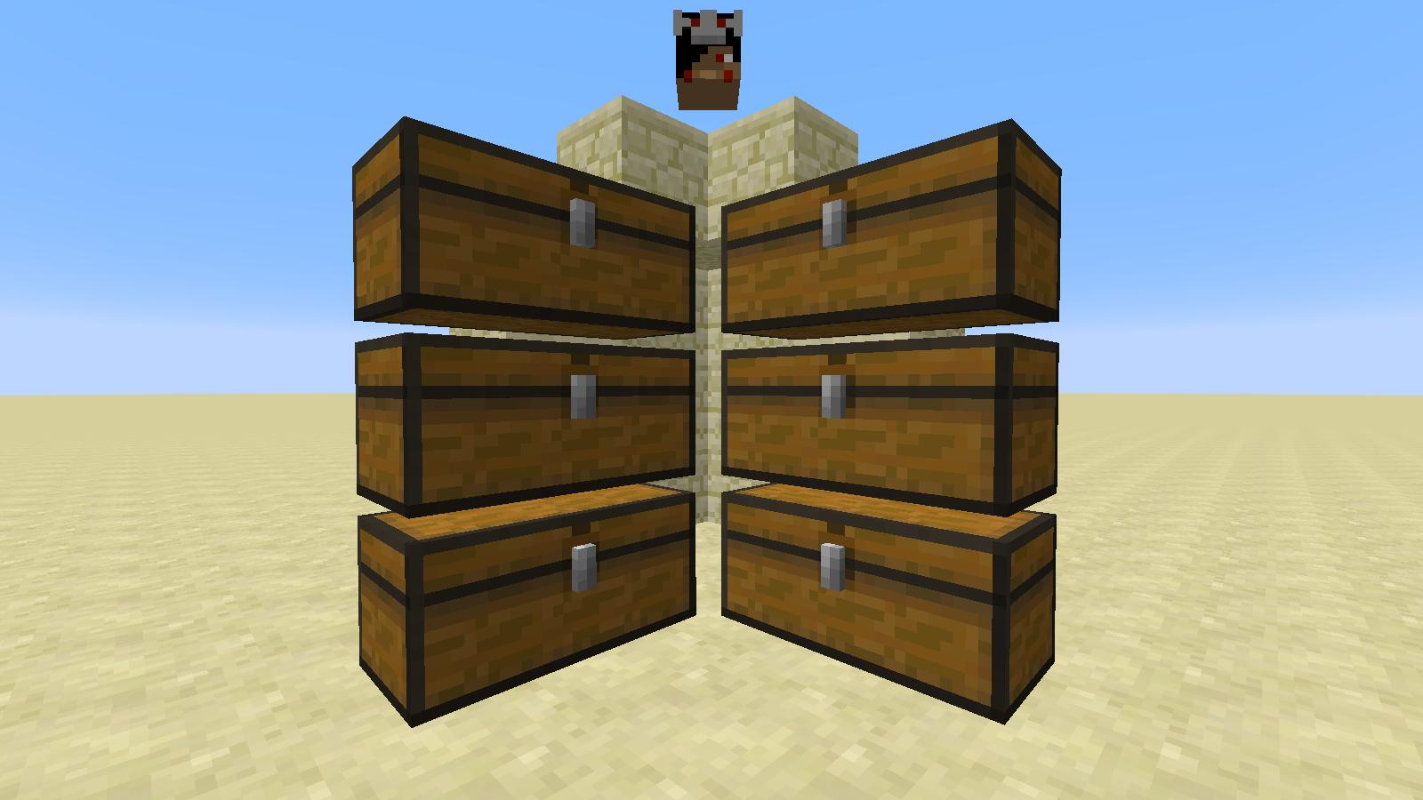 Comment Créer Un Passage Secret minecraft passage secret à travers des coffres !