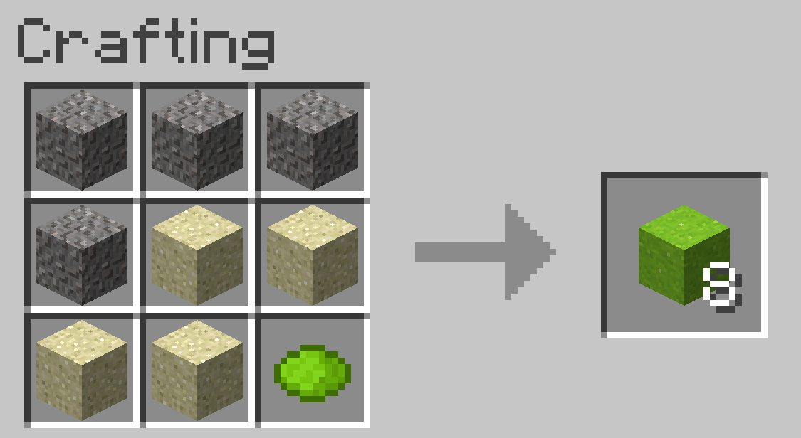 Minecraft Beton Craften