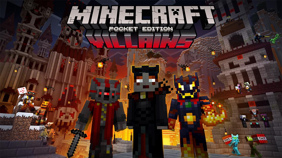 Minecraft Pe Pack De Skin Villain Et Version 0154 Fr