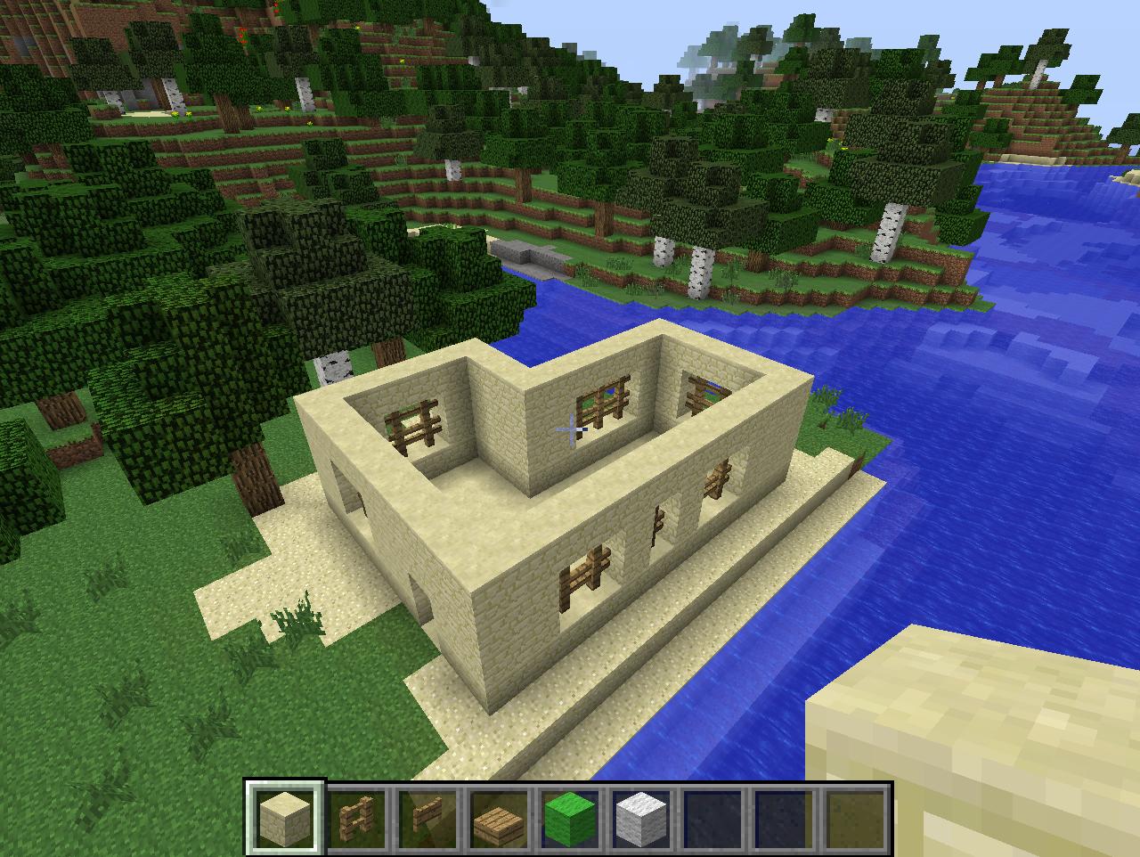 Minecraft Comment Créer Une Maison Arabique Très Facilement